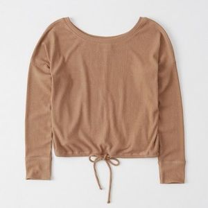 Abercrombie & Fitch Cinched Waist Top
